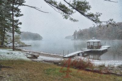 First Snowfall at Deep Creek Lake